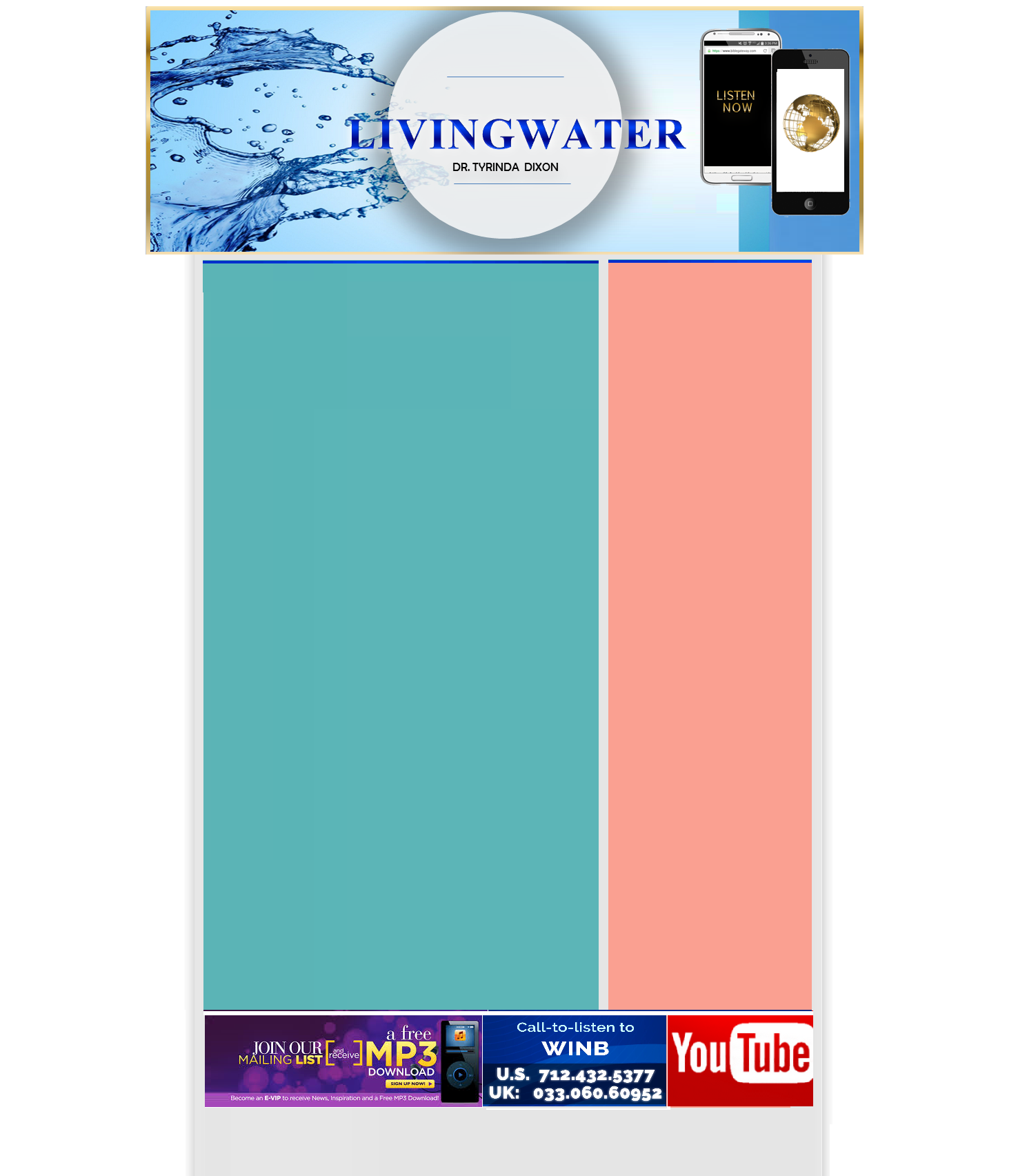 living water new